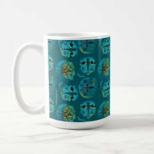 Star Wars Resistance | Teal Ace Fighters Pattern Coffee Mug