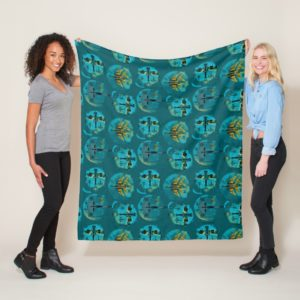 Star Wars Resistance | Teal Ace Fighters Pattern Fleece Blanket