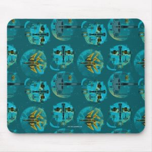 Star Wars Resistance | Teal Ace Fighters Pattern Mouse Pad