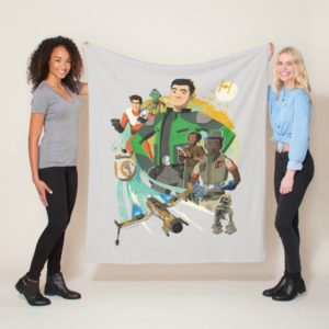 Star Wars Resistance | Team Fireball Fleece Blanket