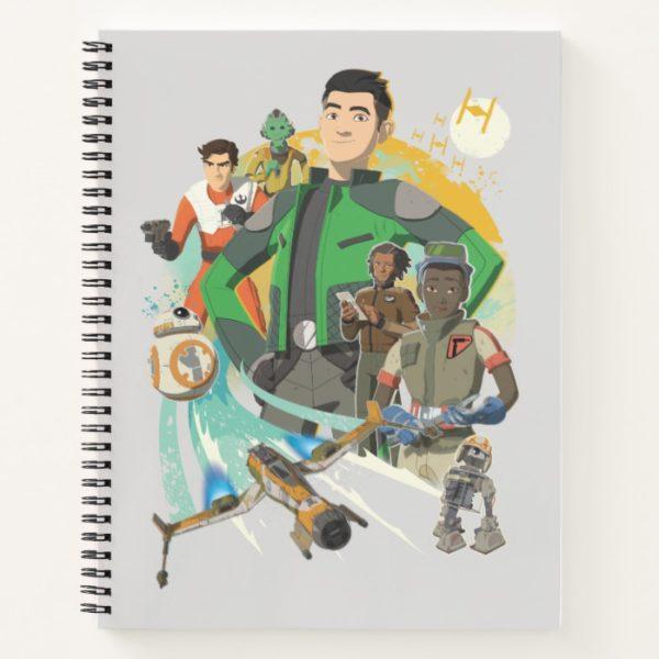 Star Wars Resistance   Team Fireball Notebook