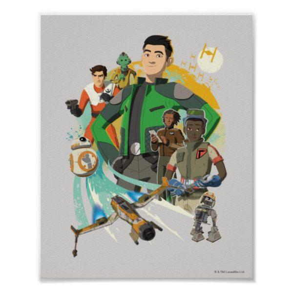 Star Wars Resistance | Team Fireball Poster