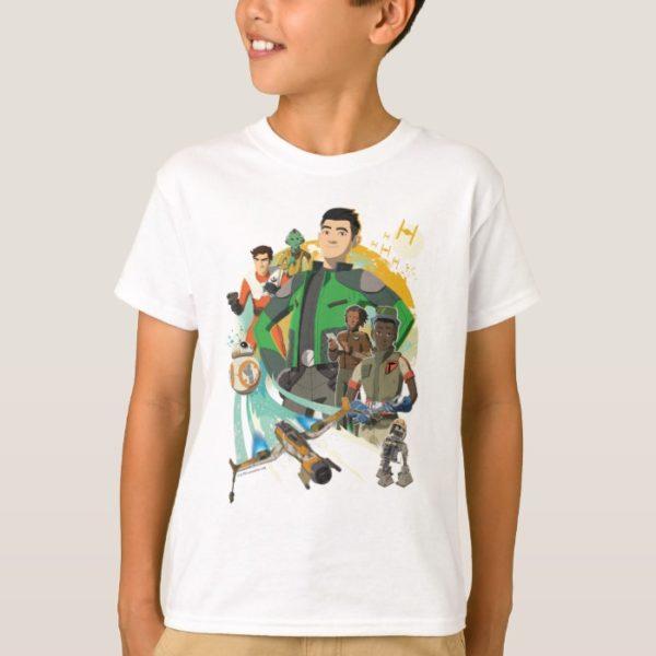 Star Wars Resistance   Team Fireball T-Shirt