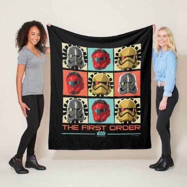 Star Wars Resistance | The First Order Fleece Blanket