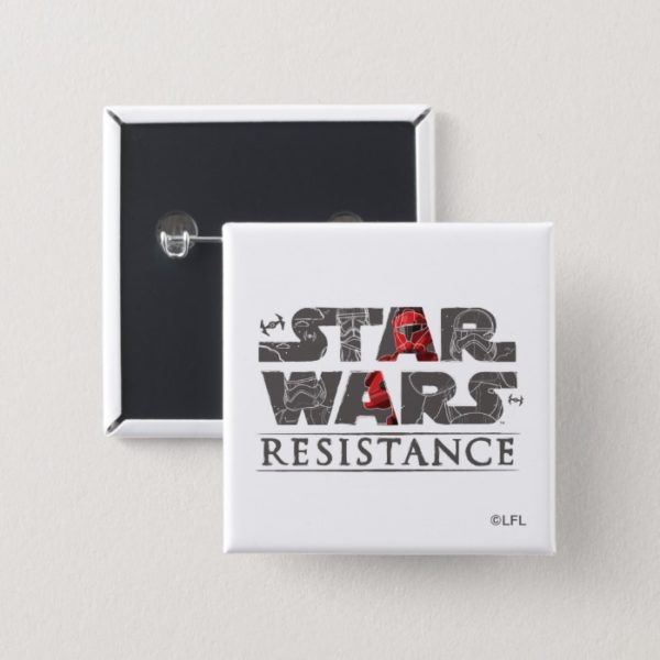 Star Wars Resistance   The First Order Logo Button
