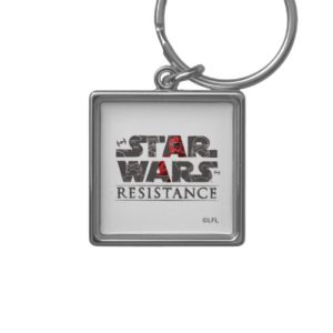 Star Wars Resistance | The First Order Logo Keychain