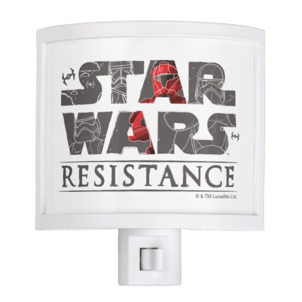 Star Wars Resistance | The First Order Logo Night Light