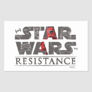Star Wars Resistance | The First Order Logo Rectangular Sticker