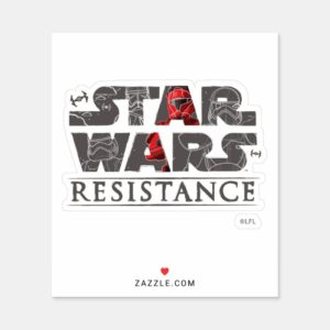 Star Wars Resistance | The First Order Logo Sticker