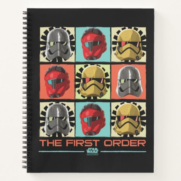 Star Wars Resistance   The First Order Notebook