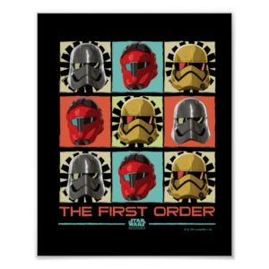 Star Wars Resistance | The First Order Poster