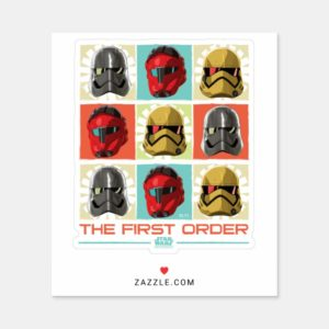 Star Wars Resistance | The First Order Sticker