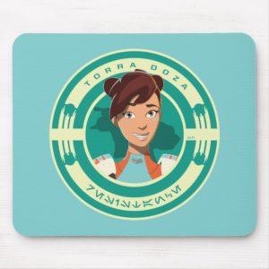Star Wars Resistance | Torra Doza Mouse Pad