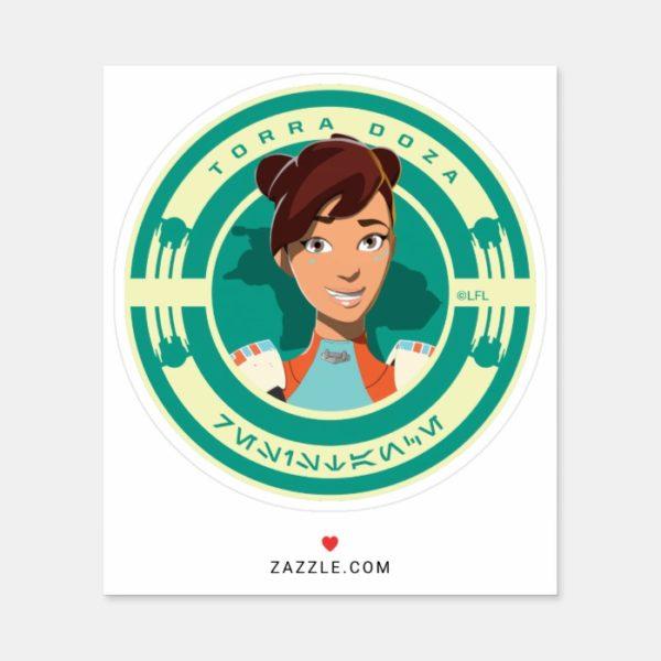 Star Wars Resistance | Torra Doza Sticker