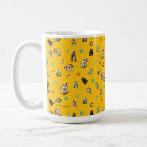 Star Wars Resistance | Yellow Droids Pattern Coffee Mug
