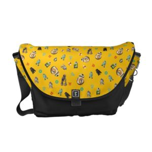 Star Wars Resistance | Yellow Droids Pattern Courier Bag