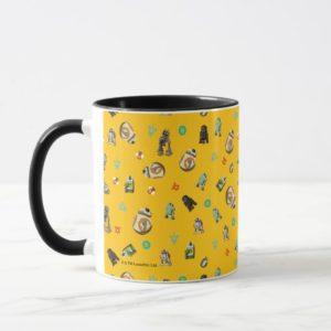 Star Wars Resistance | Yellow Droids Pattern Mug