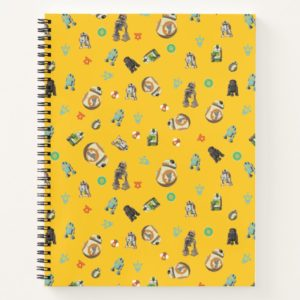 Star Wars Resistance | Yellow Droids Pattern Notebook
