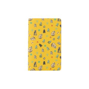 Star Wars Resistance | Yellow Droids Pattern Pocket Moleskine Notebook