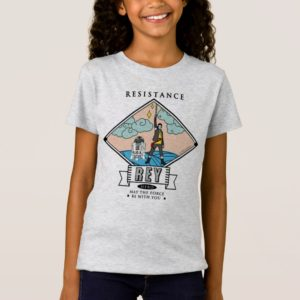 Star Wars| Rey - Resistance Hero T-Shirt
