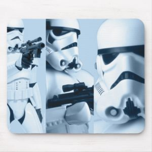Stormtrooper Photo Collage Mouse Pad
