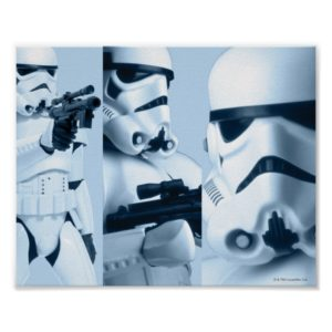 Stormtrooper Photo Collage Poster