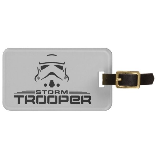Stormtrooper Simplified Graphic Bag Tag
