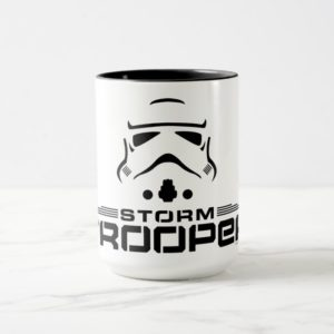 Stormtrooper Simplified Graphic Mug