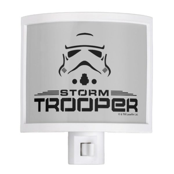 Stormtrooper Simplified Graphic Night Light