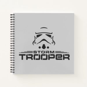 Stormtrooper Simplified Graphic Notebook