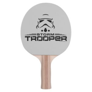 Stormtrooper Simplified Graphic Ping Pong Paddle