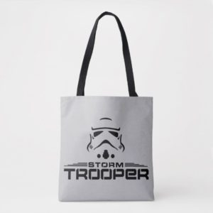 Stormtrooper Simplified Graphic Tote Bag