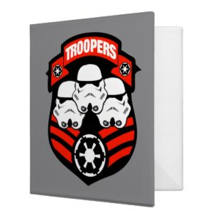Stormtroopers Imperial Badge 3 Ring Binder