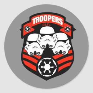 Stormtroopers Imperial Badge Classic Round Sticker