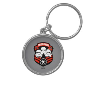 Stormtroopers Imperial Badge Keychain