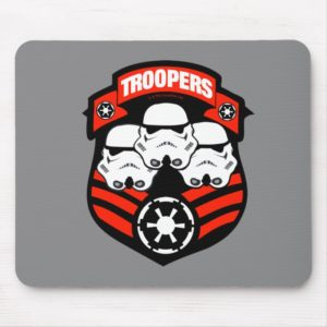 Stormtroopers Imperial Badge Mouse Pad