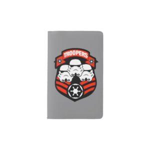 Stormtroopers Imperial Badge Pocket Moleskine Notebook