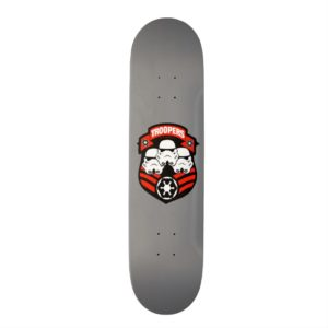 Stormtroopers Imperial Badge Skateboard