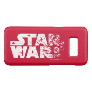White Star Wars Logo Case-Mate Samsung Galaxy S8 Case