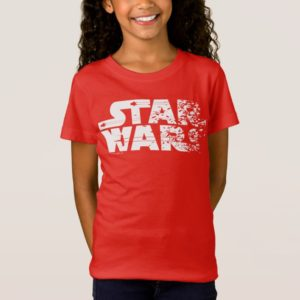 White Star Wars Logo T-Shirt