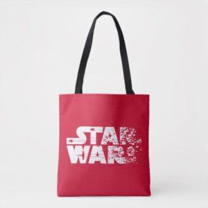 White Star Wars Logo Tote Bag