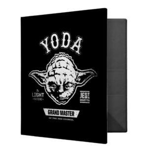 Yoda Grand Master Emblem 3 Ring Binder