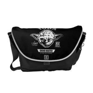 Yoda Grand Master Emblem Courier Bag