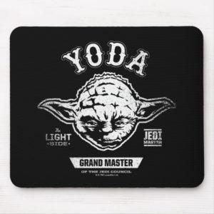Yoda Grand Master Emblem Mouse Pad