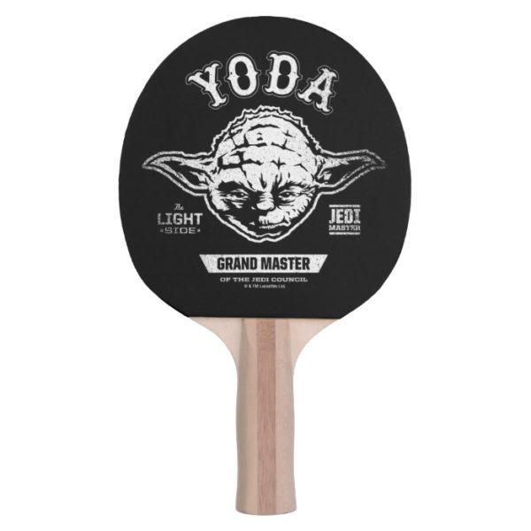 Yoda Grand Master Emblem Ping Pong Paddle