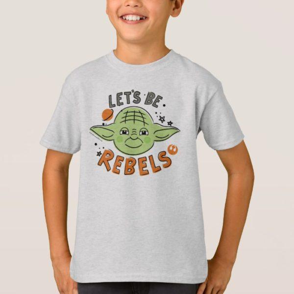 Yoda | Let's be Rebels Doodle T-Shirt