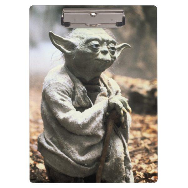 Yoda On Dagobah Clipboard