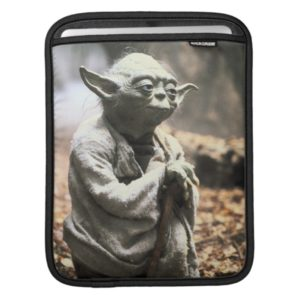 Yoda On Dagobah iPad Sleeve